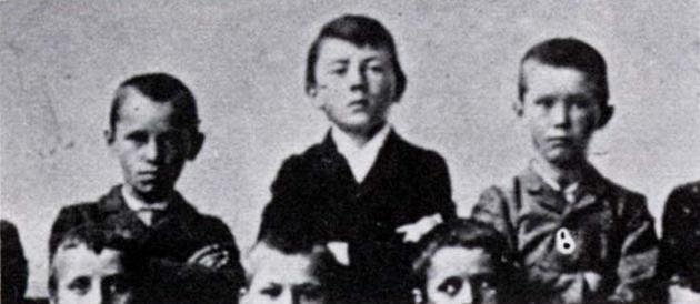 01 Eleven year-old Adolf Hitler.