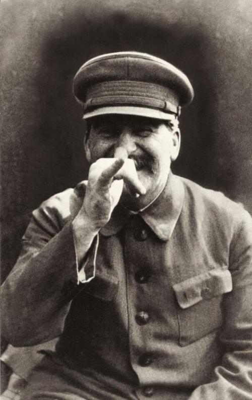 04 Stalin goofing around.