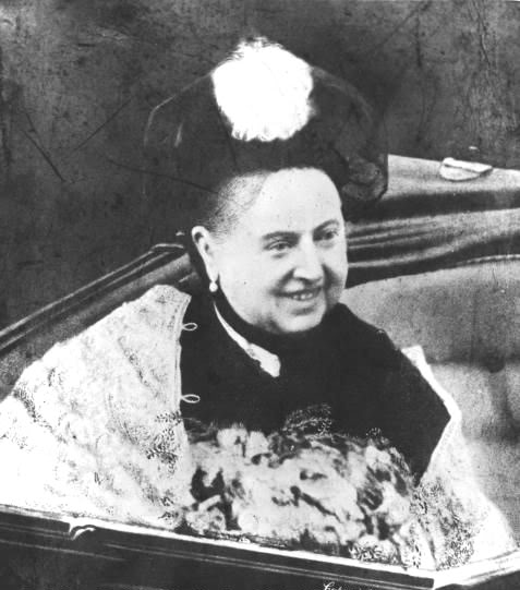 15 And finally, proof that even Queen Victoria smiled at least one time