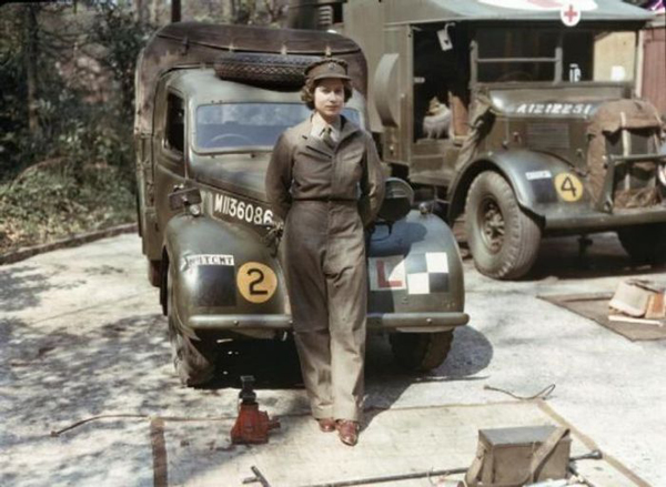 16 This is Queen Elizabeth during her WWII servic