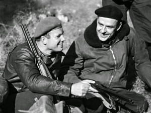 Yuri Gagarin and Komarov