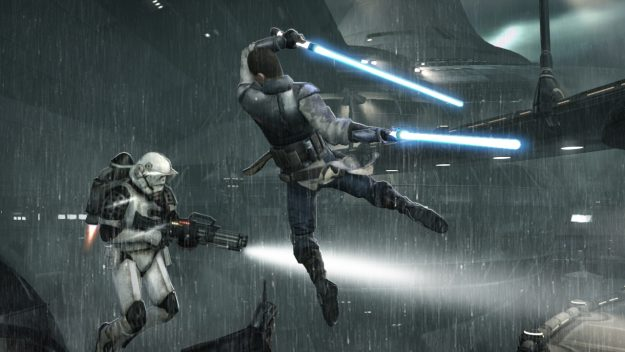 3201.Star Wars The Force Unleashed 2 wall 6