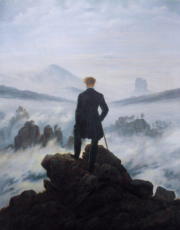 دورهگرد بر فراز مه - شخصگرایی یا خودخواهی