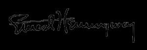 Ernest-Hemingway-signature