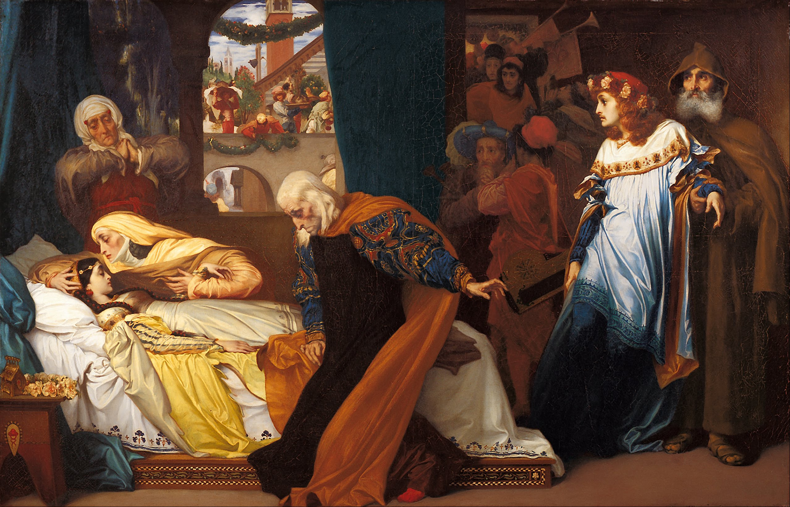 Frederic_Leighton_-_The_feigned_death_of_Juliet_-_Google_Art_Project