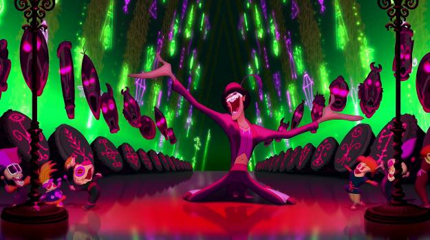 دیزنی - شاهزاده خانم و غورباقه