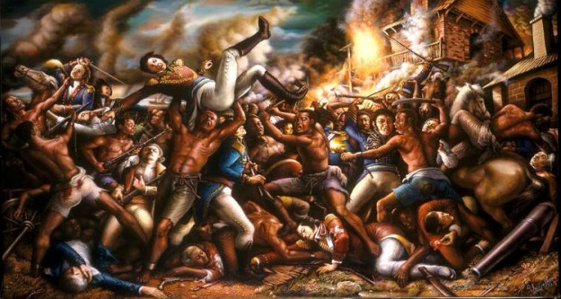 Haiti-Revolution-Ulrick-Jean-Pierre's-Paintings-7