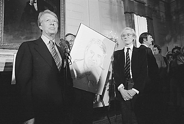 Jimmy_Carter_Andy_Warhol_1977