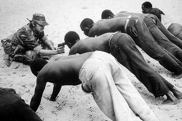Rhodesian Interrogation جنگها و وطنها