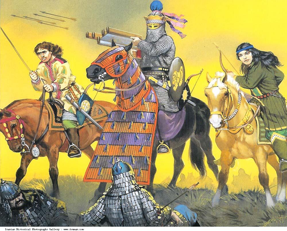 Sassanid_Border_Patrol_Savaran_Hyrcania