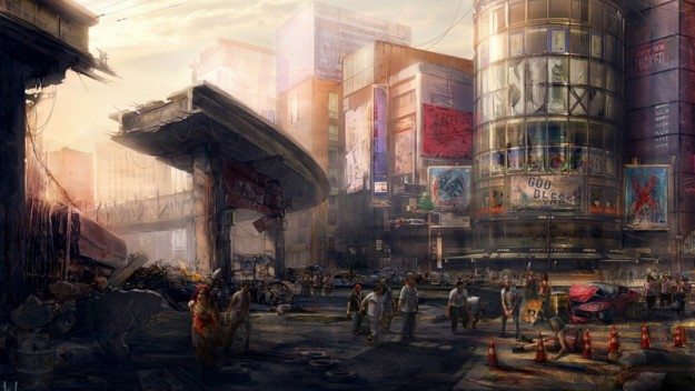 cityscapes zombies apocalypse artwork_www.wallpaperhi.com_48